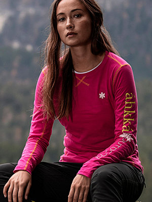 Sportkläder - áhkká T-shirt Hielje W LS Tee