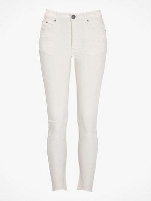 Jeans - One Teaspoon Jeans Moleskin White Kidds, slim fit