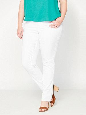 La Redoute Smala byxor i 5-ficksmodell vita