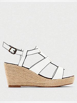 Sandaler & sandaletter - La Redoute Sandalett med kilklack