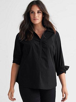 Ellos Vävd skjorta i stretchig kvalitet