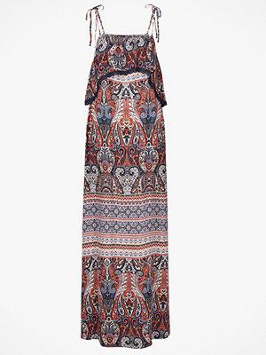 Saint Tropez Maxiklänning mönstrad