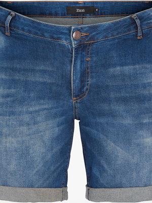 Shorts & kortbyxor - Zizzi Jeansshorts i stretchdenim