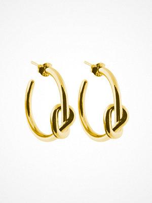 SOPHIE By SOPHIE smycke Örhänge Knot Hoops