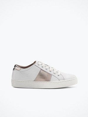 Ellos Sneakers Sandro i skinn