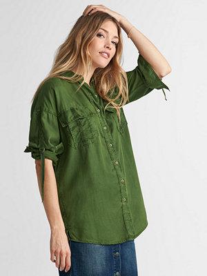 Skjortor - Esprit Skjorta i militärmodell