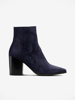 Apair Boots i blå mocka