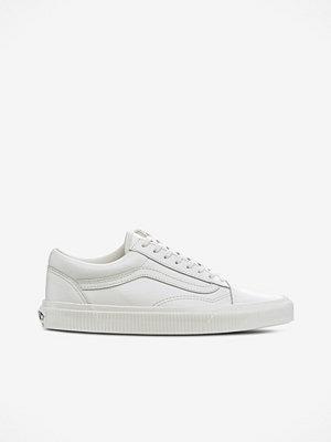 Vans Sneakers Old Skool i vitt skinn