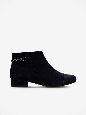 Vagabond Boots Sue i mörkblå mocka