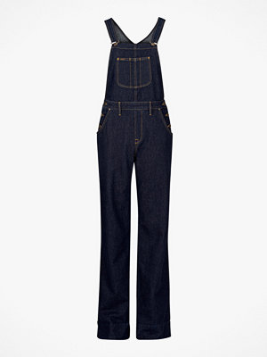 Lee Hängslejeans Bib Wide Leg