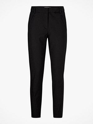 Vero Moda svarta byxor Byxa VmVictoria Antifit Ankle Pants
