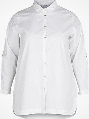 Zizzi Skjorta i bomullskvalitet