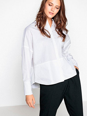 La Redoute Vid skjorta med liten ståkrage