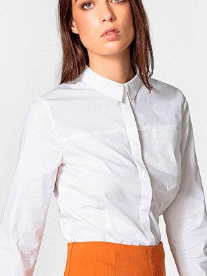 La Redoute Insvängd poplinskjorta