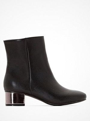 Boots & kängor - La Redoute Stövletter med klack med spegeleffekt
