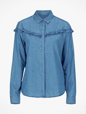 Esprit Jeansskjorta med volang