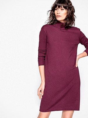 La Redoute Stickad klänning med polokrage, med kashmir