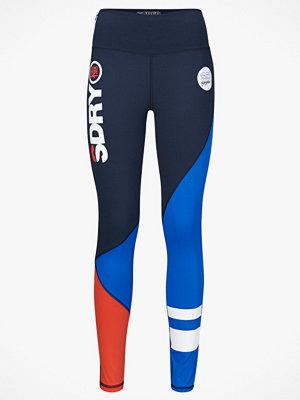 Superdry Träningstights Sd Sport Colour Block Legging