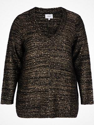 Linnen - Zizzi Ärmlös tröja med glittrande paljetter