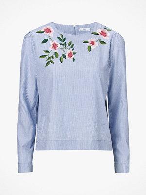 Esprit Broderad blus i ekologisk bomull