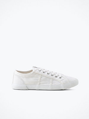Ellos Sneakers Lace Up i ekologisk bomull