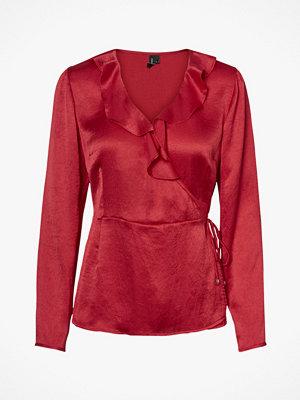 Vero Moda Blus vmHenna Shine Wrap L/S Top