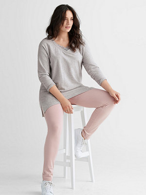 Ellos persikofärgade byxor Leggings i kraftig kvalitet