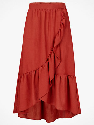Vila Kjol viDama Flounce Midi Skirt