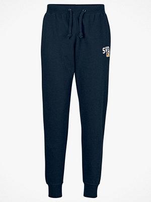 Svea Byxor Maj Sweat Pants marinblå