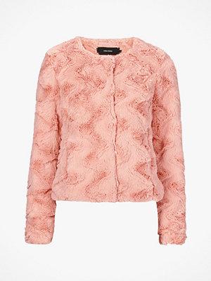 Vero Moda Jacka i fuskpäls vmCurl Short Fake Fur Jacket