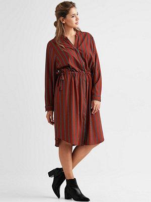 Zizzi Skjortklänning med dragsko