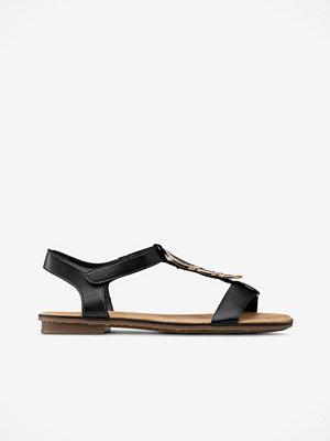Sandaler & sandaletter - Rieker Sandal med mässingsdekor