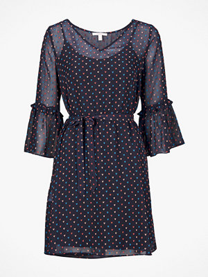 Esprit Klänning Dobby Heart Chi Dress