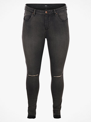 Zizzi Jeans Amy Cropped, super slim