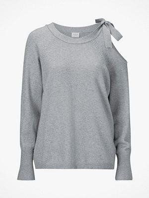 Vila Tröja viRil L/S Tie Knit Top