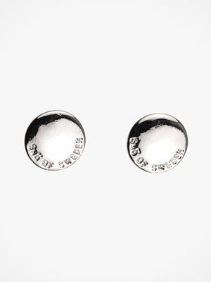 SNÖ of Sweden smycke Örhänge Haily Coin