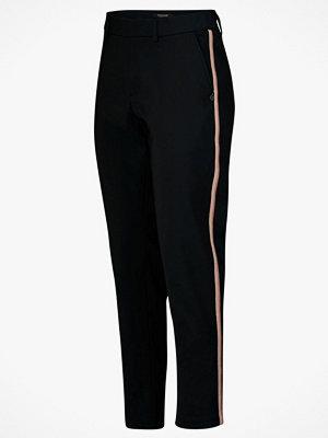 Scotch & Soda Byxor Tailored Stretch Pants svarta