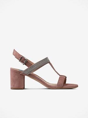 Sandaler & sandaletter - Apair Sandalett i mocka