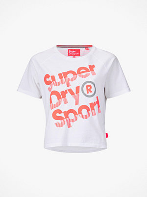 Superdry Träningstopp Sport Label Hot Tee