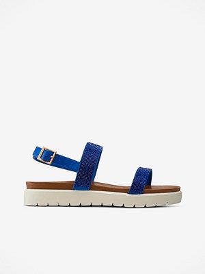 Sandaler & sandaletter - Ilse Jacobsen Sandal i skinnimitation