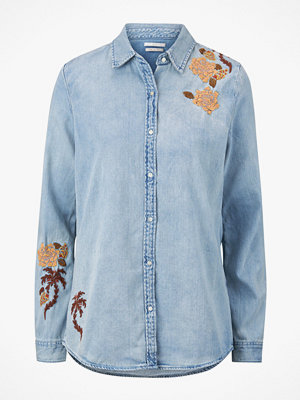 Scotch & Soda Jeansskjorta Light Wash Denim Shirt