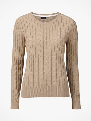 Park Lane Tröja Cable Pullover Crew Neck