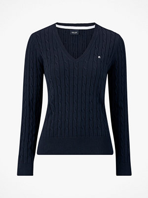 Park Lane Tröja Cable Pullover V-neck