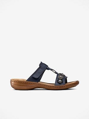 Sandaler & sandaletter - Rieker Sandaler slip-in med strass