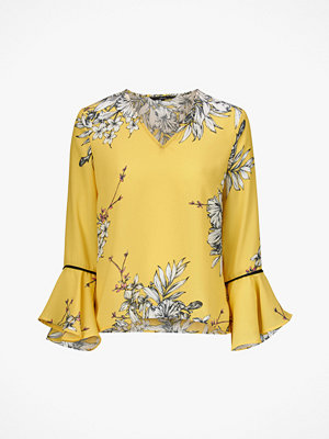 Vero Moda Blus vmSatina Flair 7/8 V Neck Top