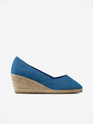 Snygga blå skor online Modegallerian