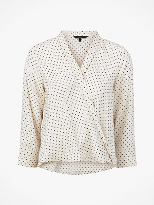 Vero Moda Blus vmNicky 3/4 Collar Wrap Top