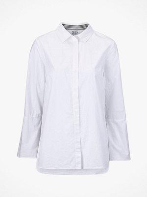 Saint Tropez Skjorta Woven Shirt Cuff Detail