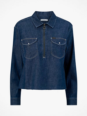 Lee Jeansskjorta Shirt Cropped Zip