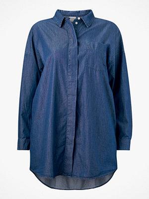 Junarose Jeansskjorta jrAllegra LS Long Loose Shirt